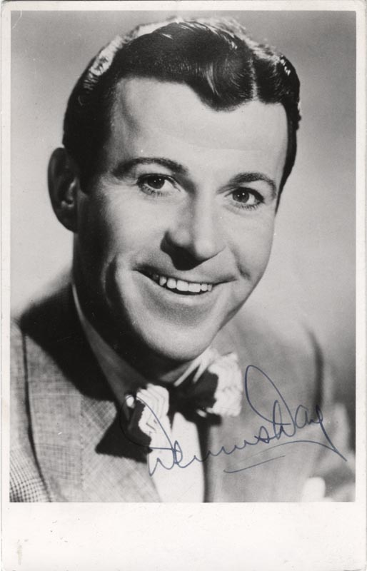 Image 1 for Dennis Day - Autographed Signed Photograph - HFSID 209794