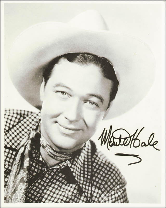 Image 1 for Monte Hale - Autographed Signed Photograph - HFSID 209920