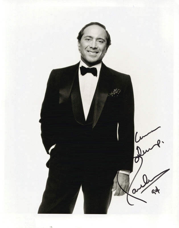 Image 1 for Paul Anka - Autographed Inscribed Photograph 1994 - HFSID 210194