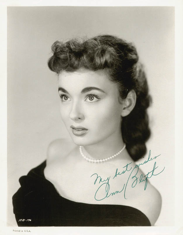 Image 1 for Ann Blyth - Autographed Signed Photograph - HFSID 210481
