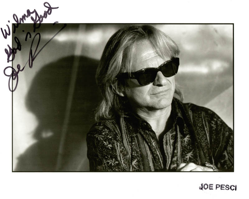 Image 1 for Joe Pesci - Autographed Inscribed Photograph - HFSID 210503