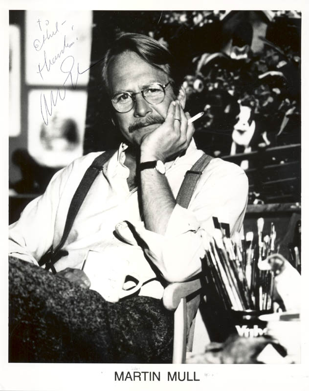Image 1 for Martin Mull - Autographed Inscribed Photograph - HFSID 210564