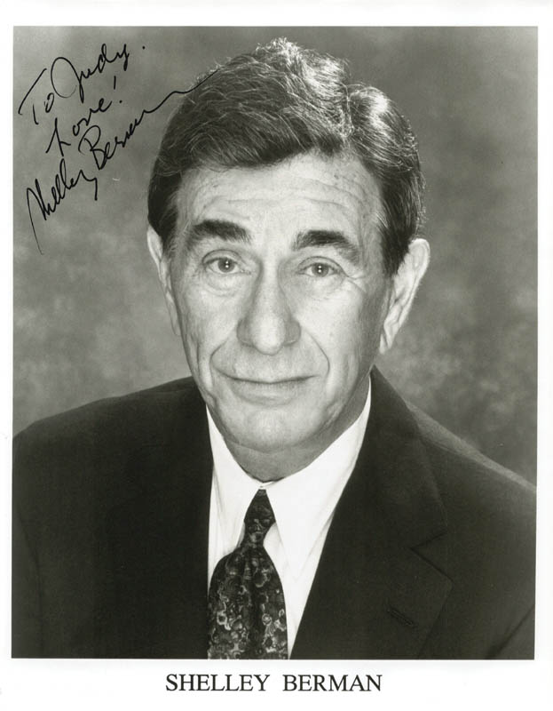 Image 1 for Shelley Berman - Autographed Inscribed Photograph - HFSID 210574