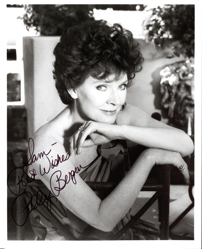 Image 1 for Polly Bergen - Autographed Inscribed Photograph - HFSID 210725