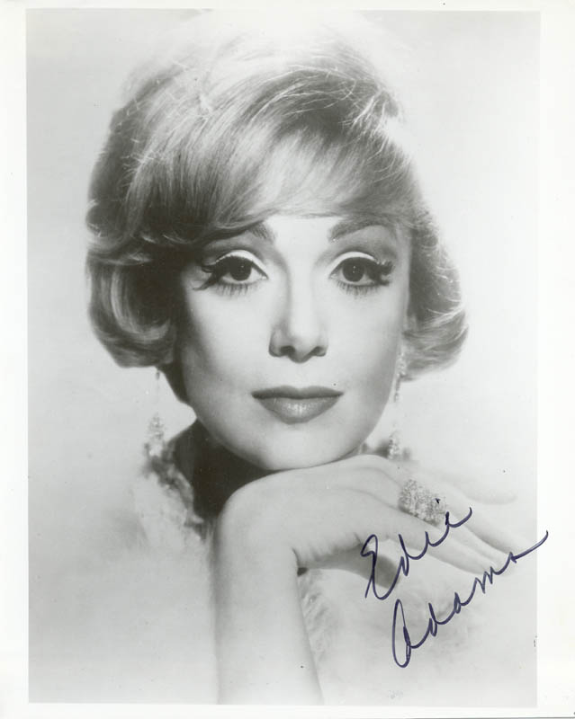 Image 1 for Edie Adams - Autographed Signed Photograph - HFSID 210762