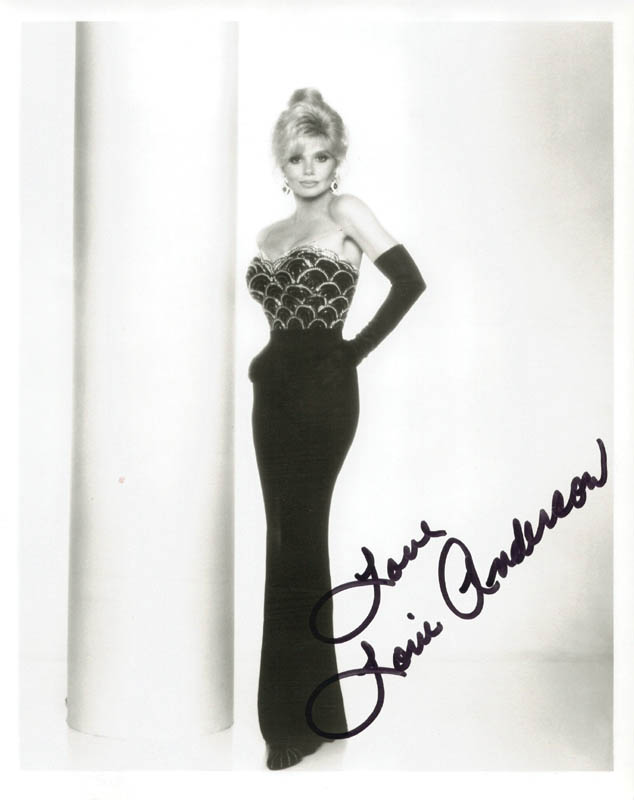 Image 1 for Loni Anderson - Autographed Signed Photograph - HFSID 210849