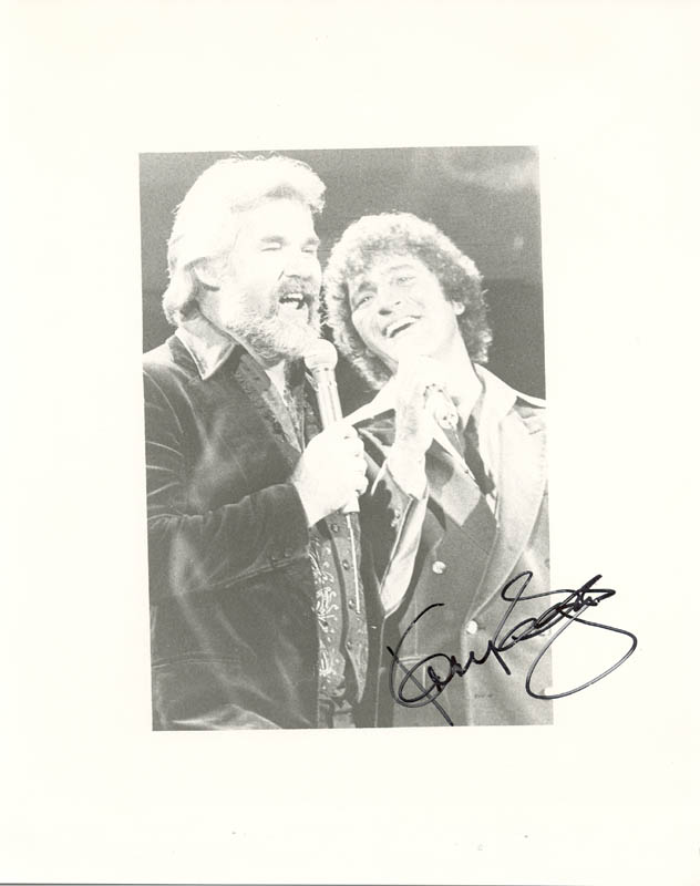 Image 1 for Kenny Rogers - Autographed Signed Photograph - HFSID 211022