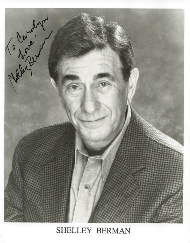 Image 1 for Shelley Berman - Autographed Inscribed Photograph - HFSID 211036