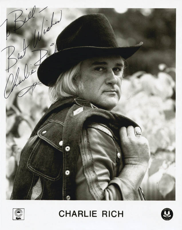 Image 1 for Charlie Rich - Autographed Signed Photograph - HFSID 211158