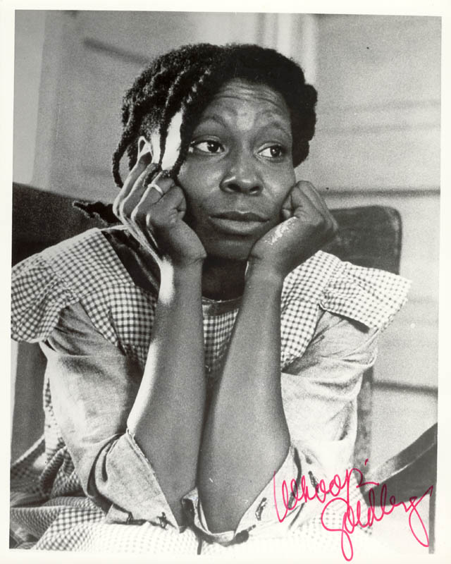 Image 1 for Whoopi Goldberg - Autographed Signed Photograph - HFSID 211319