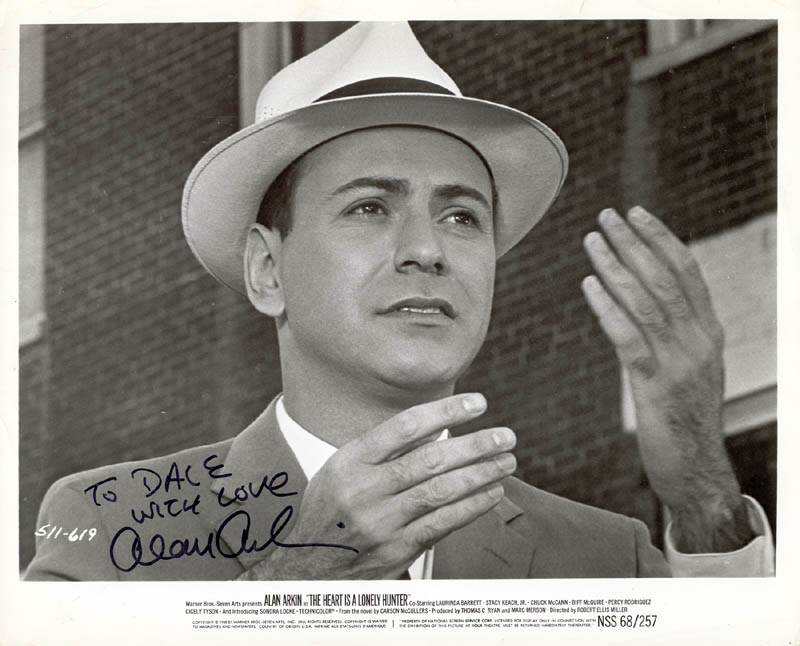 Image 1 for Alan Arkin - Autographed Inscribed Photograph - HFSID 211497