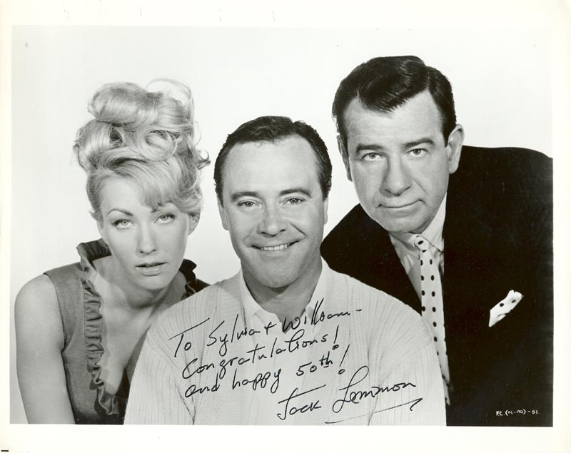 Image 1 for Jack Lemmon - Autographed Inscribed Photograph - HFSID 211534