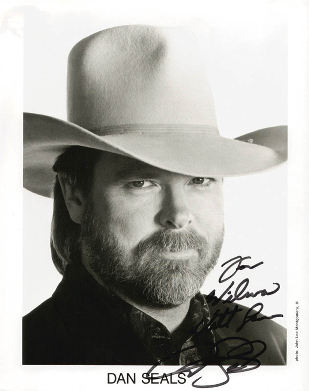 Image 1 for Dan Seals - Autographed Inscribed Photograph - HFSID 211556