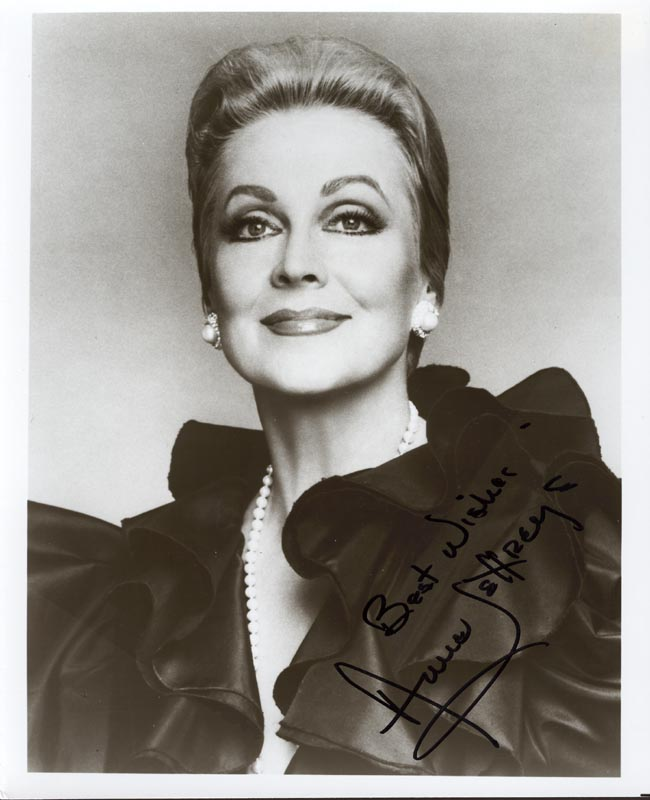 Image 1 for Anne Jeffreys - Autographed Signed Photograph - HFSID 211711