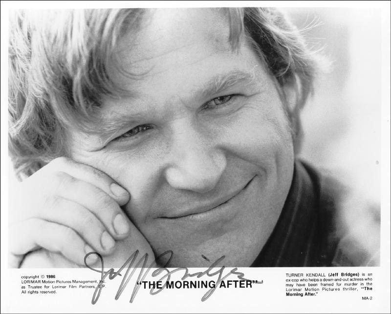 Image 1 for Jeff Bridges - Autographed Signed Photograph - HFSID 211779