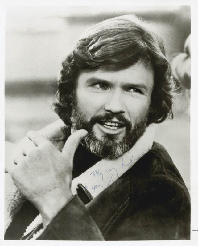 Image 1 for Kris Kristofferson - Autographed Inscribed Photograph - HFSID 212051