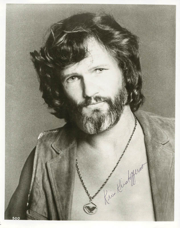 Image 1 for Kris Kristofferson - Autographed Signed Photograph - HFSID 212054