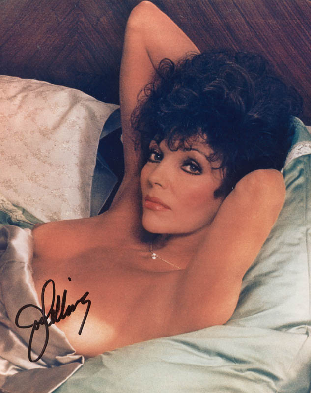 Image 1 for Joan Collins - Autographed Signed Photograph - HFSID 212144