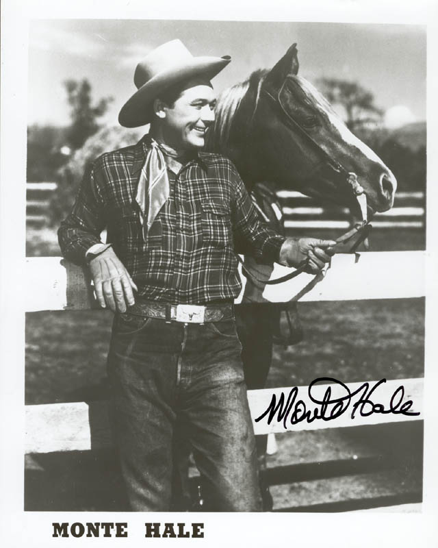 Image 1 for Monte Hale - Autographed Signed Photograph - HFSID 212161