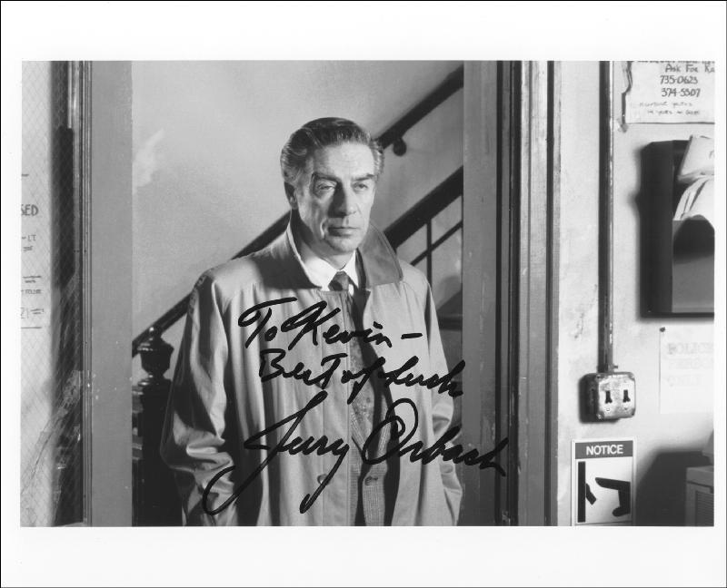 Image 1 for Jerry Orbach - Autographed Inscribed Photograph - HFSID 212391