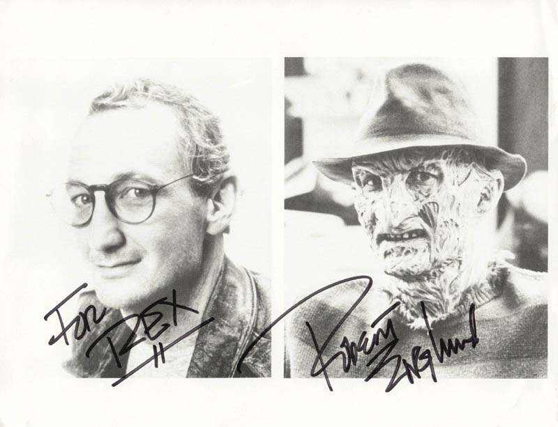 Image 1 for Robert Englund - Autographed Inscribed Photograph - HFSID 212396