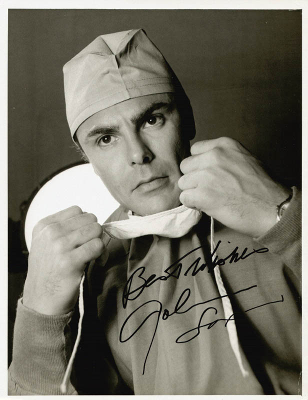 Image 1 for John Saxon - Autographed Signed Photograph - HFSID 212628