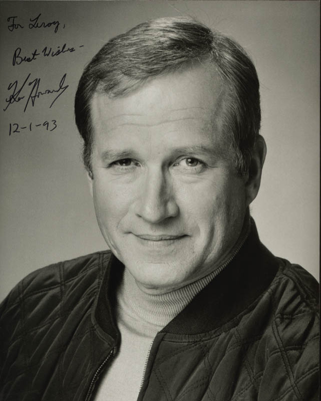 Image 1 for Ken Howard - Autographed Inscribed Photograph 12/01/1993 - HFSID 212636