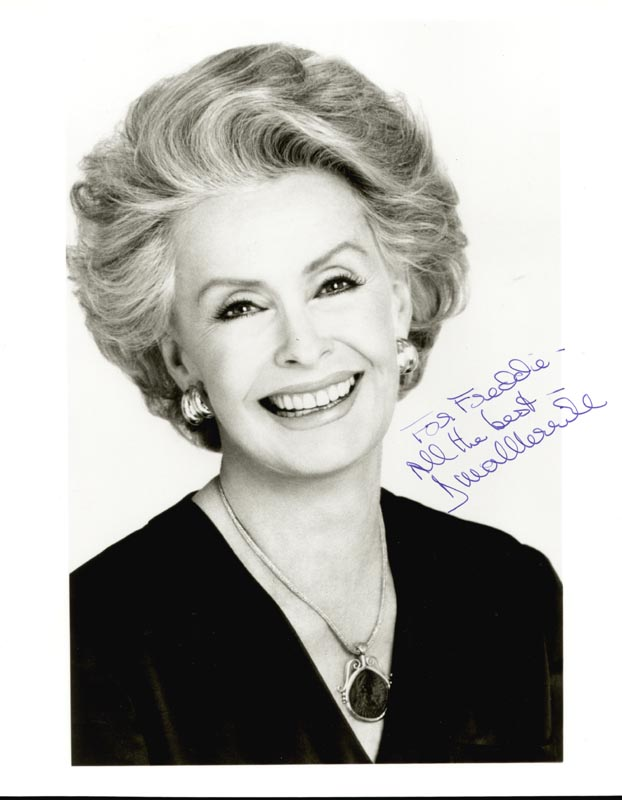 Image 1 for Dina Merrill - Autographed Inscribed Photograph - HFSID 212787