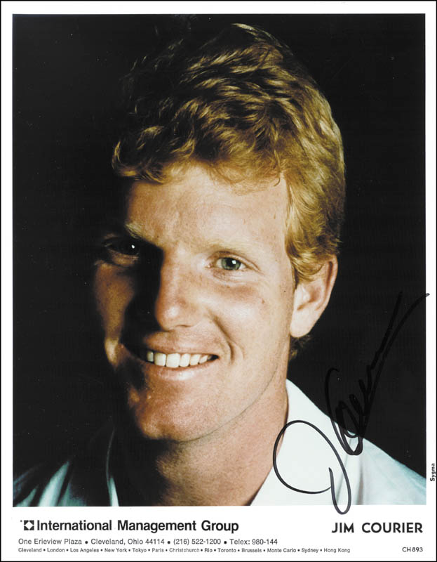 Image 1 for Jim Courier - Autographed Signed Photograph - HFSID 213032