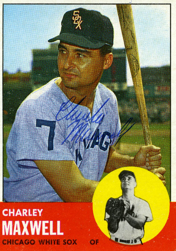 Image 1 for Charlie 'Smokey' Maxwell - Trading/Sports Card Signed - HFSID 21305