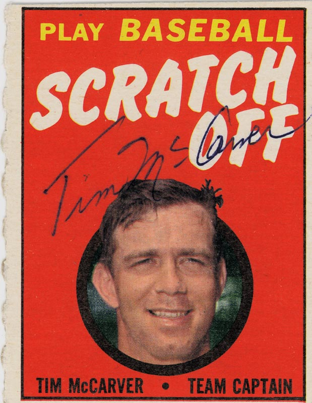 Image 1 for Tim Mccarver - Trading/Sports Card Signed - HFSID 21311