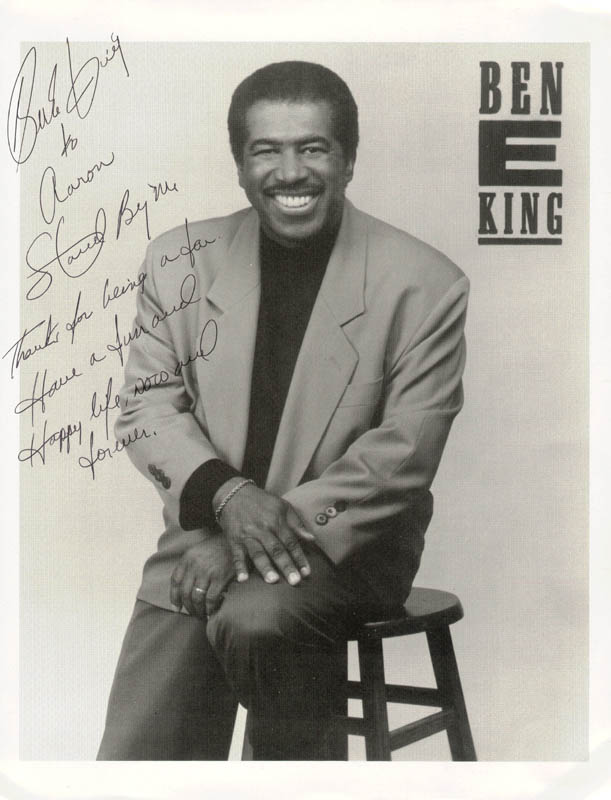 Image 1 for Ben E. King - Inscribed Printed Photograph Signed In Ink - HFSID 213341