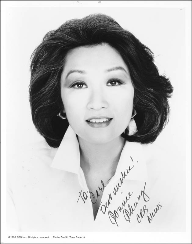 Image 1 for Connie Chung - Autographed Inscribed Photograph - HFSID 213519