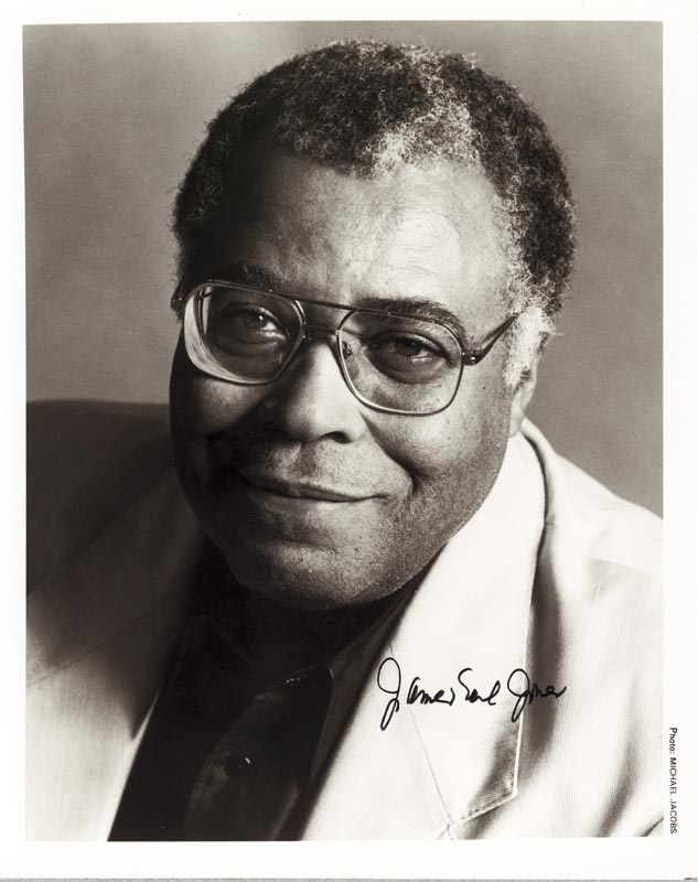 Image 1 for James Earl Jones - Autographed Signed Photograph - HFSID 213552
