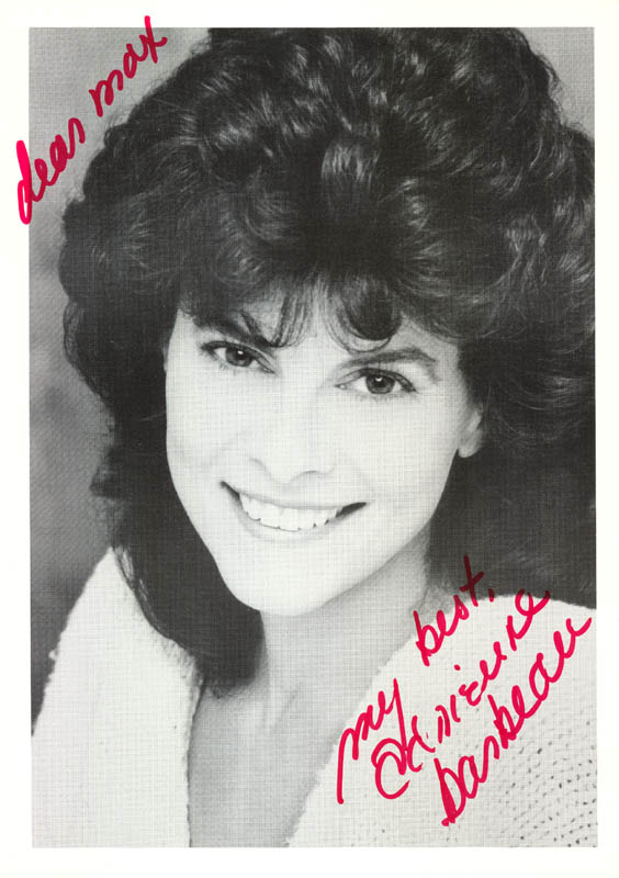 Image 1 for Adrienne Barbeau - Autographed Inscribed Photograph - HFSID 213645