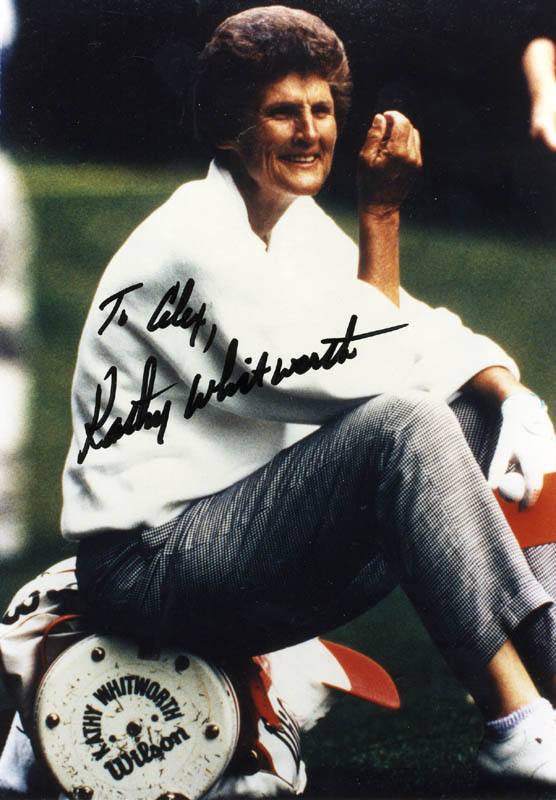 Image 1 for Kathy Whitworth - Autographed Inscribed Photograph - HFSID 213664