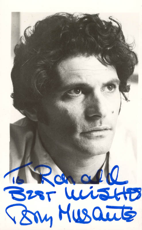 Image 1 for Tony Musante - Autographed Inscribed Photograph - HFSID 214009