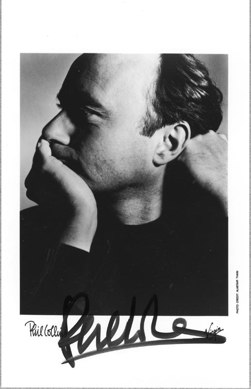 Image 1 for Genesis (Phil Collins) - Autographed Signed Photograph - HFSID 214062