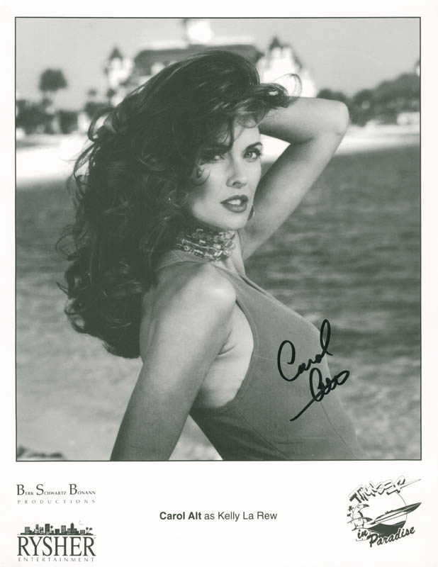 Image 1 for Carol Alt - Printed Photograph Signed In Ink - HFSID 214150
