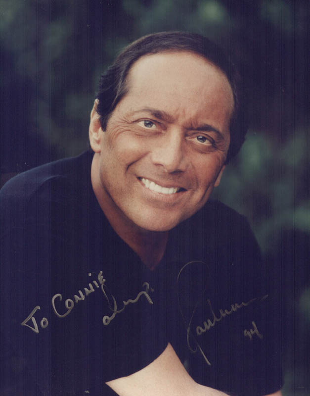 Image 1 for Paul Anka - Autographed Inscribed Photograph 1994 - HFSID 214153