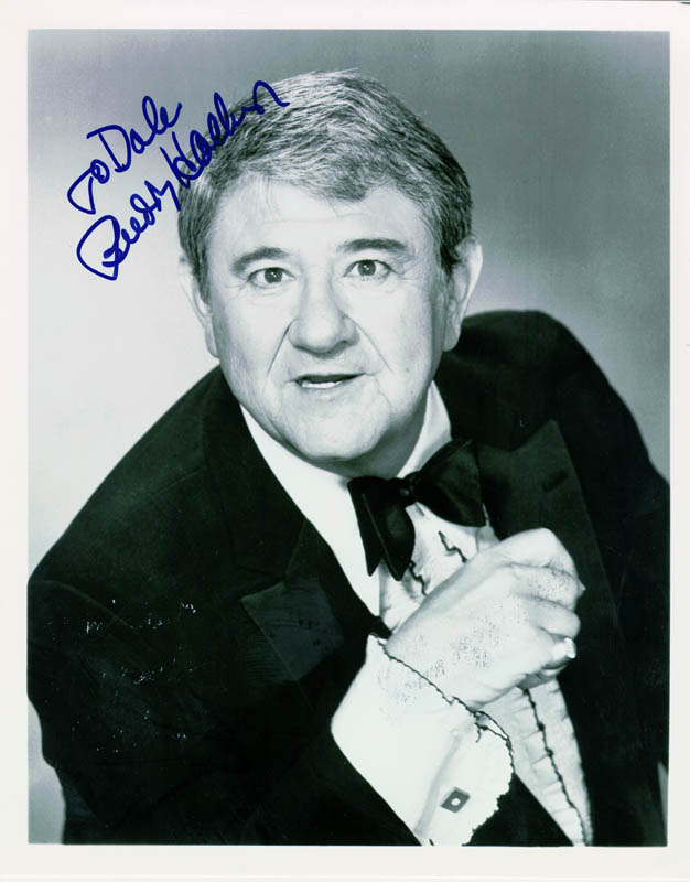 Image 1 for Buddy Hackett - Autographed Inscribed Photograph - HFSID 214169