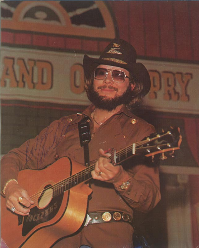 Image 1 for Hank Williams Jr. - Autographed Signed Photograph - HFSID 214229
