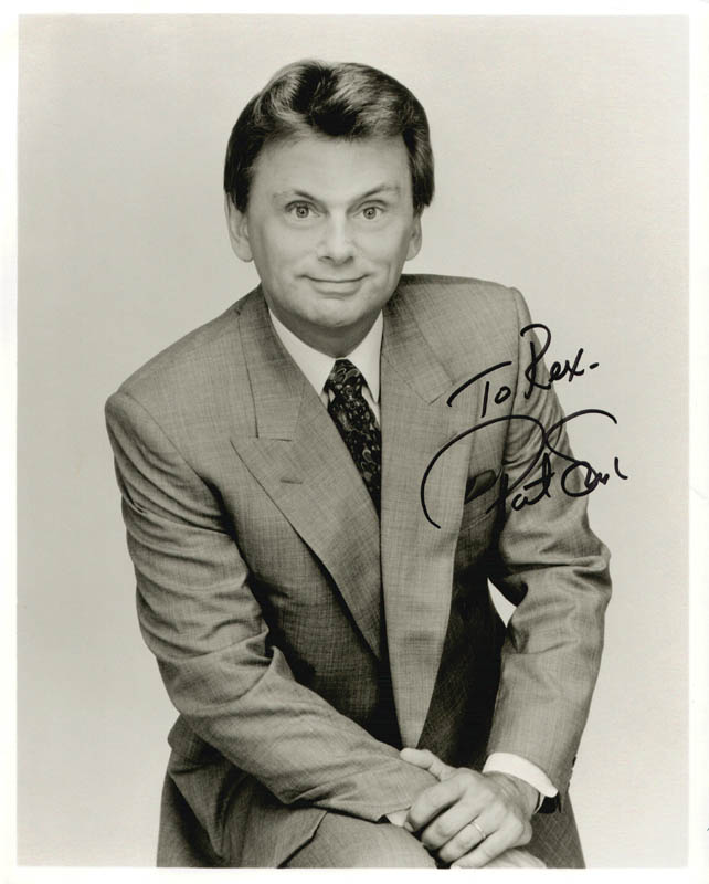Pat Sajak - Inscribed Photograph Signed | Autographs ...