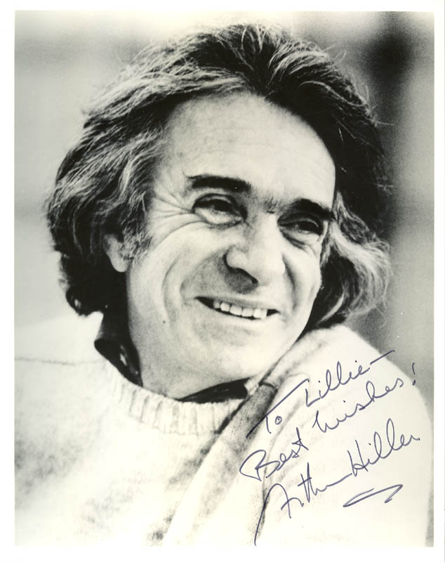 Image 1 for Arthur Hiller - Autographed Inscribed Photograph - HFSID 214442
