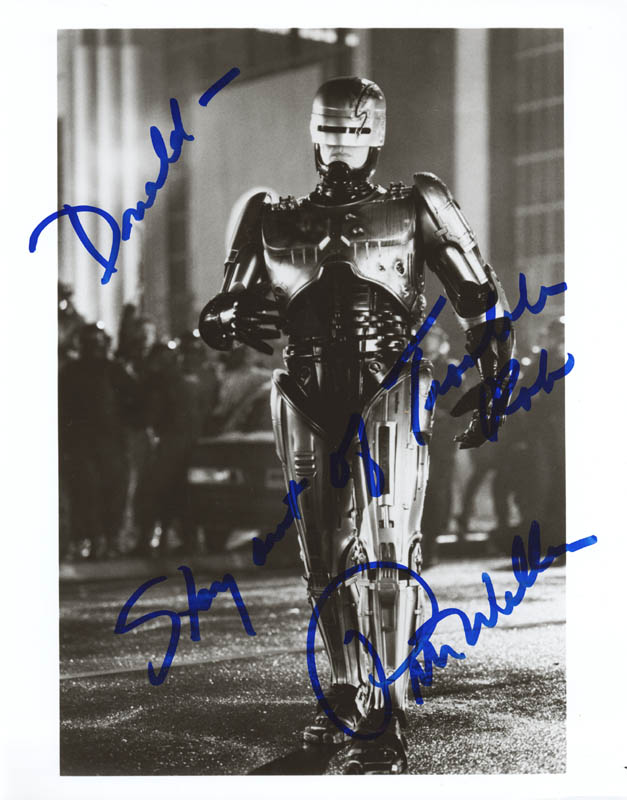 Image 1 for Peter Weller - Autographed Inscribed Photograph - HFSID 214486