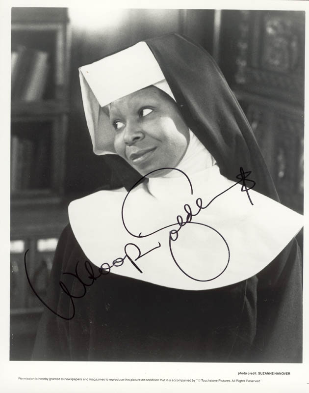 Image 1 for Whoopi Goldberg - Autographed Signed Photograph - HFSID 214501
