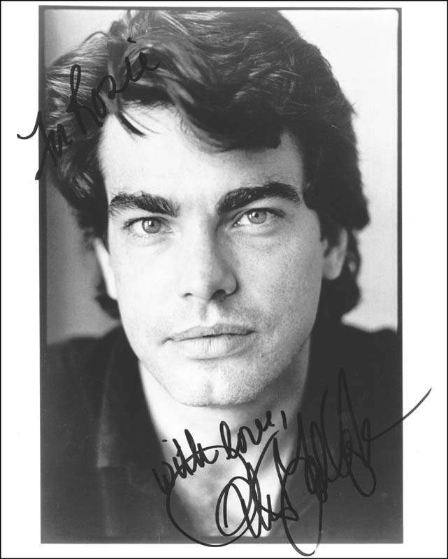 Image 1 for Peter Gallagher - Autographed Inscribed Photograph - HFSID 214544