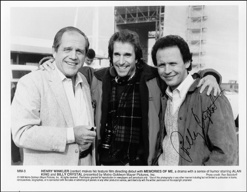Image 1 for Billy Crystal - Autographed Signed Photograph - HFSID 214627