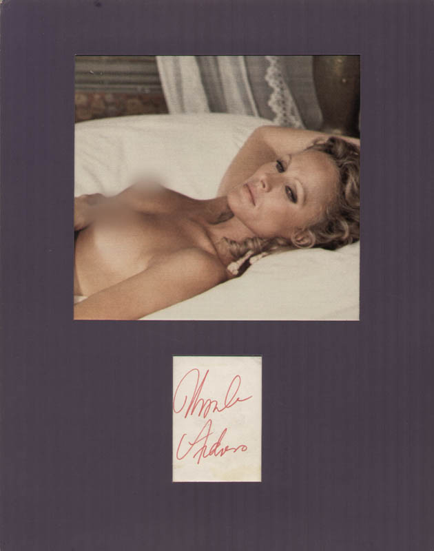 Image 1 for Ursula Andress - Autograph - HFSID 215219