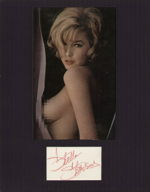 from Royal fake nude stella stevens